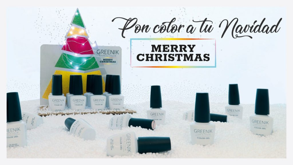 Pon color a tu Navidad con Greenik Cosmetics